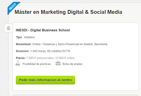 Máster en Marketing Digital & Social Media